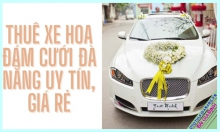 Cheap wedding flower car rental service throughout Da Nang