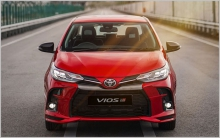 After Tet, maybe the latest version of Toyota Vios will come Vietnam?